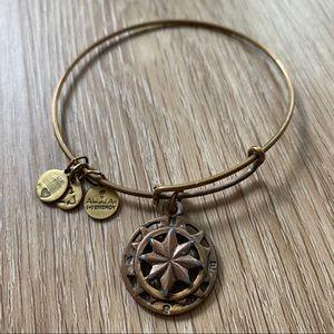 Alex & Ani Compass Bracelet - Gold